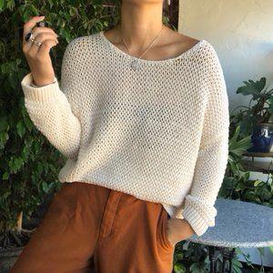 Gap   Soft Knit Beige Sweater